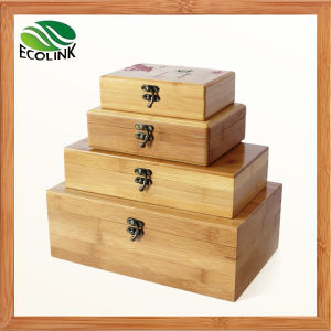 Natural Bamboo Storage Boxes / Storage Bin with Lid pictures & photos