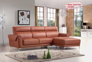 European Style New Italian Leather Sofa Sbl-1721 L Shapr Sofa