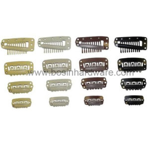 Small Metal Snap Clip Hair Clips Wholesale pictures & photos