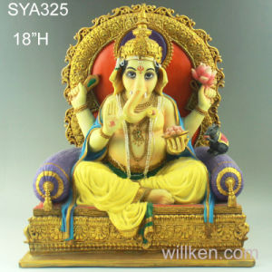Religious Hindu Gods Hot Sale Resin Lord Ganesha
