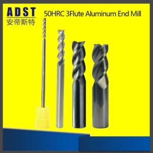 16mm*100mm Solid Carbide End Mill TiSiN 4 Flute CNC Cutter Milling Drill HRC55