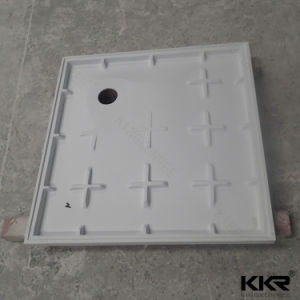 Composite Stone Resin Bathroom Square Shower Base pictures & photos