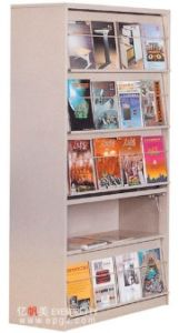 High Quality Steel Library Bookshelf (DG-15) pictures & photos