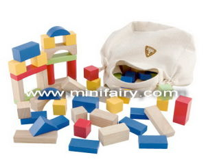 China Wooden Toys-100PCS ELC Wooden Bricks(J924) - China
