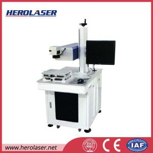 Herolaser Ultraviolet Laser Marking Machine for iPhone 5c Cellpone Case, Charger, USB