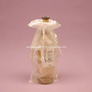 Luxirious Jeweled Organza Wine Bag (AM-OB035)