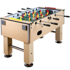 Cheap And Classic Sport Foosball Table With Metal Cup Holder And Leg Levers