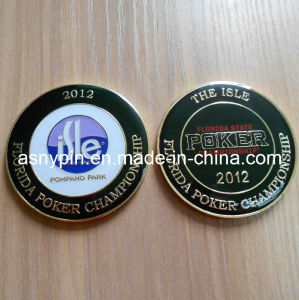 Poker Coin with Custom Logo (ASNY-JL-poker coin-13060108) pictures & photos