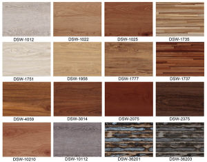 Eco Friendly Customized Vinyl Resilient Flooring pictures & photos