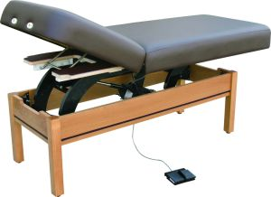 Deluxe Massage Table With Remote Control (EMT-001) pictures & photos