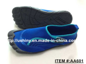 Men Aqua Shoe Outlined Toes Water Shoes