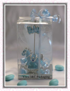 Transparent PVC Gift Packaging Boxes (JCP-260)