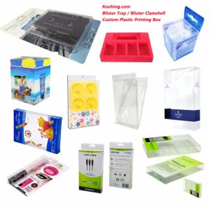 Clear Pet Electric Blister Packaging, Sliding Card Blister pictures & photos