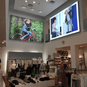 High Quality Advertising Light Box Frame for Clothing Store