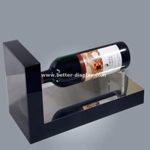Tabletop Bottle Display Chrome Bottle Rack Wine Display Btr-D2162 pictures & photos