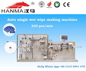 Full Auto Single Wet Wipe Making Machine