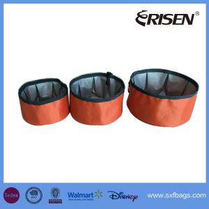 Collapsible Foldable Dog Bowl Nylon Pet Bowl for Food & Water pictures & photos