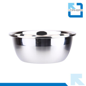 Multi-Size Thickened Stainless Steel Mixing Bowl Set Salad Bowl pictures & photos