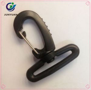 Fast Delivery Plastic Swivel Hook with Metal Clip pictures & photos