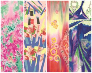 China Wholesale Printed Fashion Scarf (C-033) pictures & photos