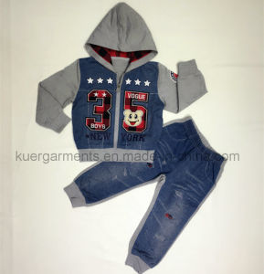 Children Suit Boy Suit Sport Suit in Kids Clothes