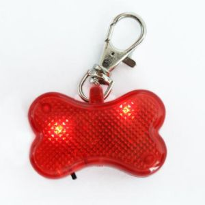 Cheaper and Promotion Red Bone Shape LED Pet Products Pendant pictures & photos