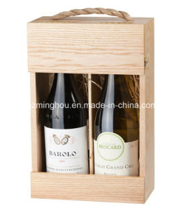 Practical Wooden Wine Box for Gift, Storage