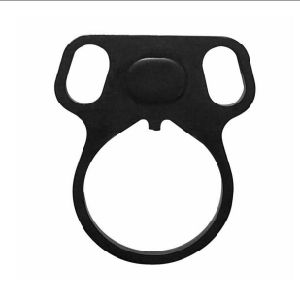 Ambidextrous Dual Round Loop Mount Slot Strap Latch Adapter