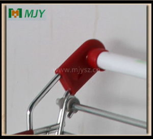 Cadde Supermarket Shopping Trolley Zinc Plated with Clear Epoxy Coating Mjy-Sec160 pictures & photos