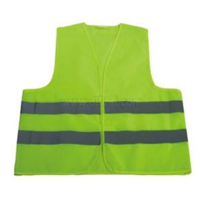 Safety Tape Vest with High-Visibility Tape pictures & photos