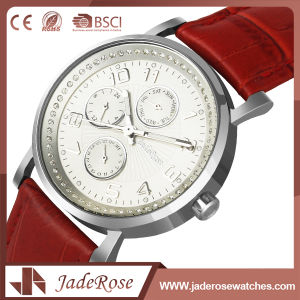 OEM Simple Bracelet Girls Leather Watch pictures & photos