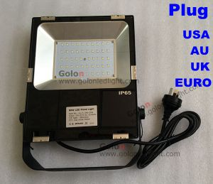 China Supplier Flood Light Good Price 110lm/W LED Floodlight 50W with Plug Us USA Au UK EU pictures & photos