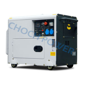 5kw Portable Self-Starting Silent Diesel Generator pictures & photos