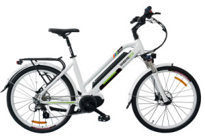Inner Battery 250W City Electric Bike with 8fun Middle Drive Motor