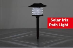 Solar Iris Stake Light with White LED pictures & photos