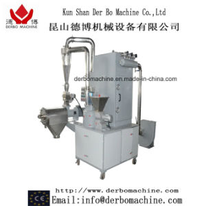 Small Volume, Low Noise Acm Micro-Grinding System for Powder Coating