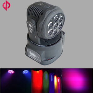 7X10W Mini LED Moving Head Light for Bar Using