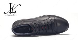 Black Sneaker with Rubber Outsole (CAS-056)