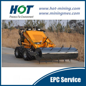 Small Sized Loader Mini Type Wheel Loader Alh380