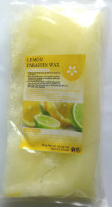 Paraffin Treatment Wax Lemon Scent for Skin Beauty Care pictures & photos
