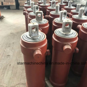 Factory Made Three Stage Lift Hydraulic Cylinder for Tipper Trailer pictures & photos