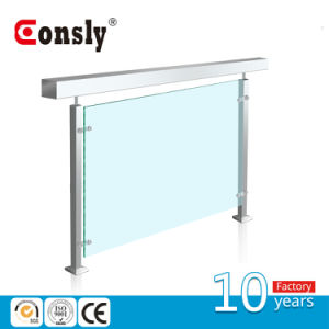 Designed Stainless Steel Glass Railing/ Square Type Handrail