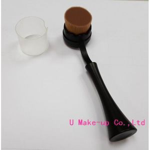 Oval Makeup Brushes, Best Makeup Brush, Makeup Brush for Liquid Bb Cream, Spoon Makeup Brush