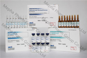 High Quality of Glutathione Injection for Body Lightening and Skin Whitening Glutathione pictures & photos