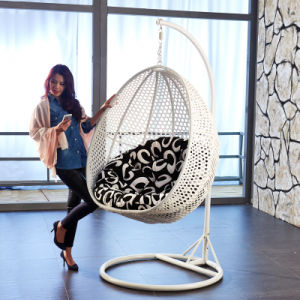 Popular Cheap Price Rattan Swing Chair Rattan Hanging Egg Chair (D011) pictures & photos