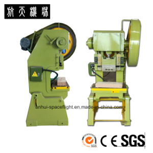 J23 Small mechanical Power Press Machine for Processing Metal Sheet