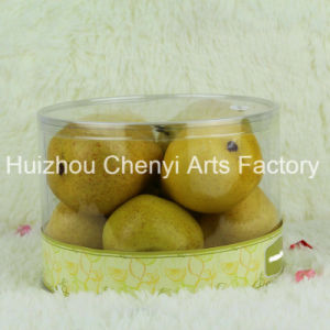 Transparent PVC Box Decoration Simulation Fruit pictures & photos