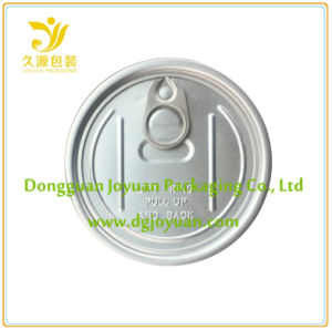 Aluminum Easy Open End Lid Eoe for Dried Food 307# pictures & photos