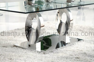 Home Furniture Hot Sale Modern Glass Coffee Table (CT6031)