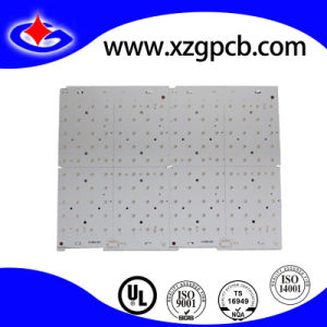 1-Layer Aluminum LED PCB with White Solder Mask pictures & photos